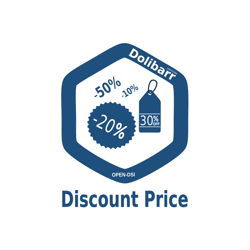 Module Dolibarr - Discount Price